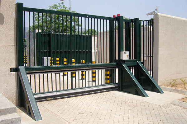 industrial automatic gate Alutech Odessa